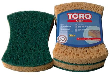 Houbičky na nádobí tvarované Toro - 2ks