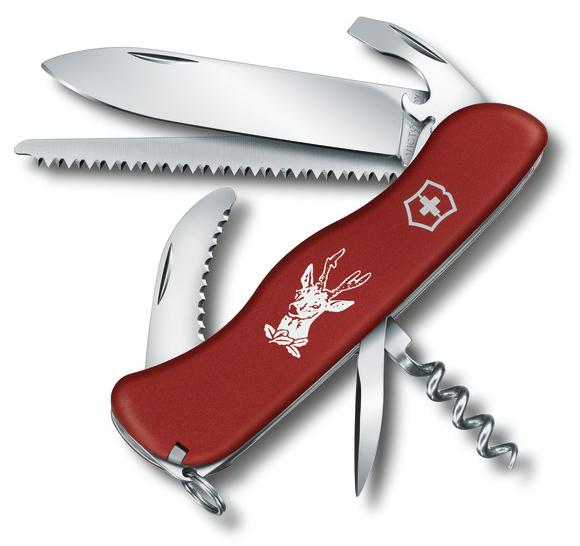 Nůž Victorinox 0.8573 Hunter - červený
