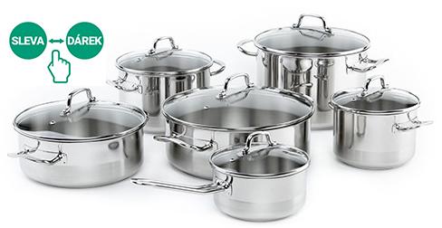 Sada nádobí Kolimax Professional, 12 kusů