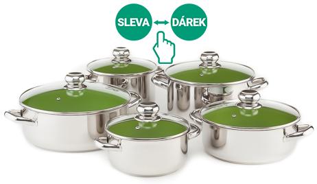 Sada nádobí Kolimax CERAMMAX PRO STANDARD, 10 kusů