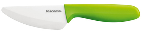 TESCOMA nůž s keramickou čepelí VITAMINO 9 cm, zelená