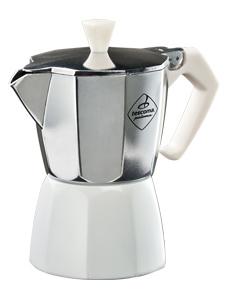 Kávovar PALOMA Colore, 3 šálky - bílá