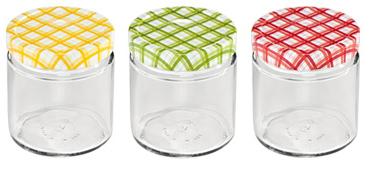 Zavařovací sklenice Tescoma DELLA CASA 400 ml, 3 ks