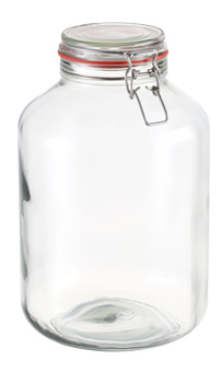 Zavařovací sklenice s klipem Tescoma DELLA CASA 5000 ml