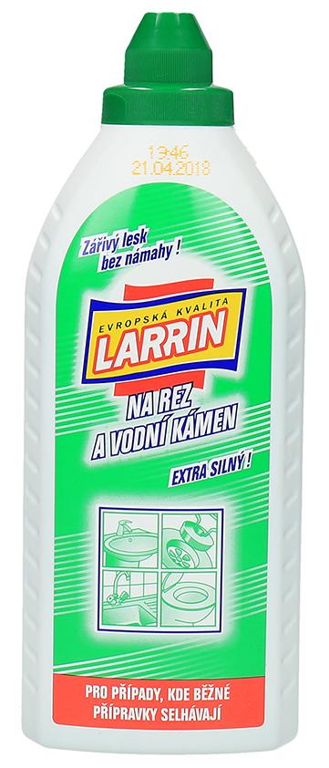 Larrin Wc čistič na rez a vodní kámen 500ml