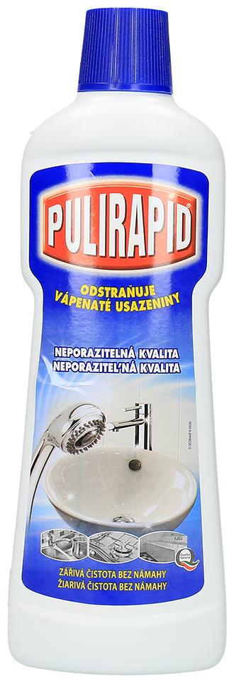 Pulirapid Classico na rez a vodní kámen tekutý čistič 750 ml - rychlá expedice, doprava Zdarma od 999 Kč.