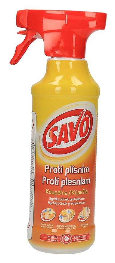 Savo proti plísním koupelna rozprašovač 500ml