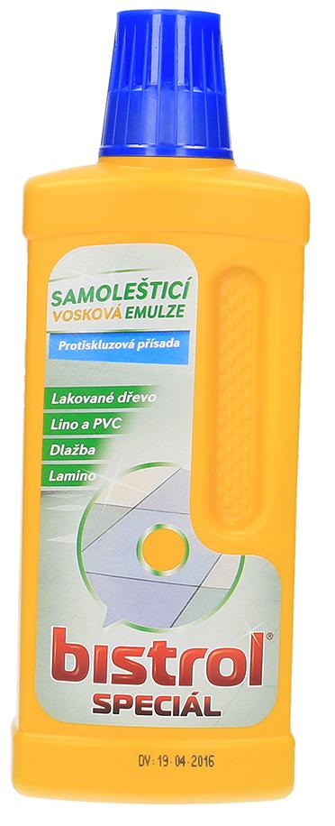 Bistrol Speciál samolešticí emulze na podlahy 500 ml