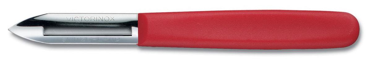 Škrabka na brambory Victorinox oboustranná červená