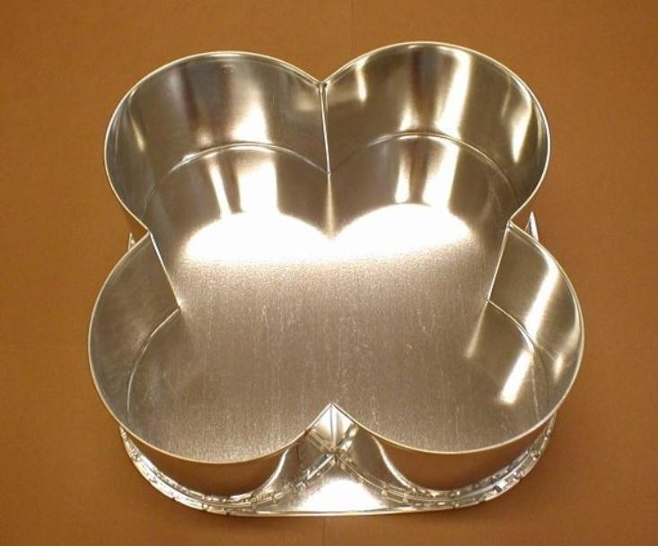 Forma na dort čtyřlístek malá