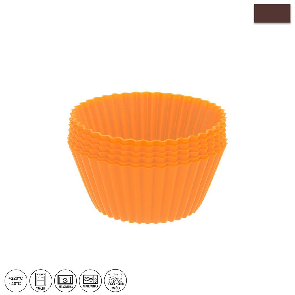 Forma silikon Orion košíček muffiny 12 ks