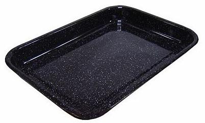 Belis smaltovaný pečící plech 37,5x29,5x5,5 cm
