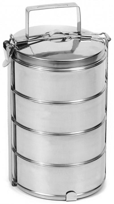 Nerezový jídlonosič 4x1 L, 16 cm - Rychlá expedice, doprava Zdarma od 999,-