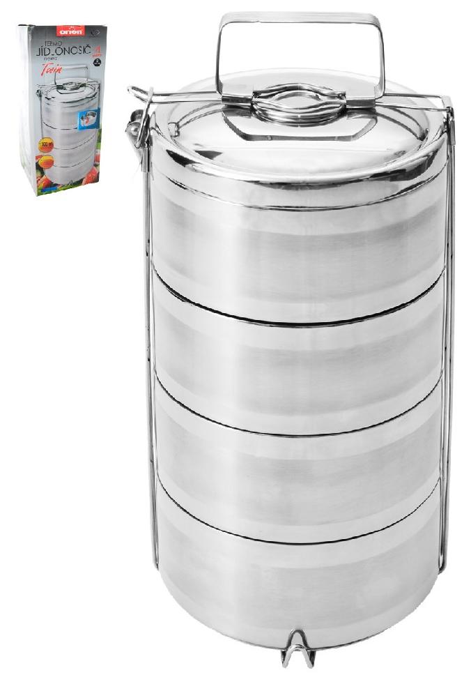 Termo jídlonosič nerez 4x1,1 l