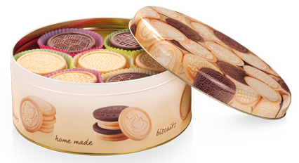 TESCOMA dóza na sušenky DELÍCIA ø 20 cm, rychlá expedice, doprava zdarma od 999,-