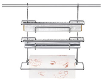 Zásobník na fólie a papírové utěrky Tescoma Monti 33 cm