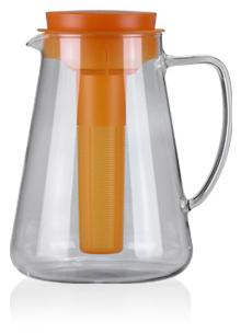 Džbán Teo Tescoma 2,5l s vyluhováním a chlazením - oranžová