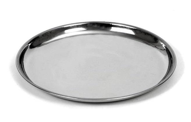 Nerezový tác Orion kulatý 18 cm
