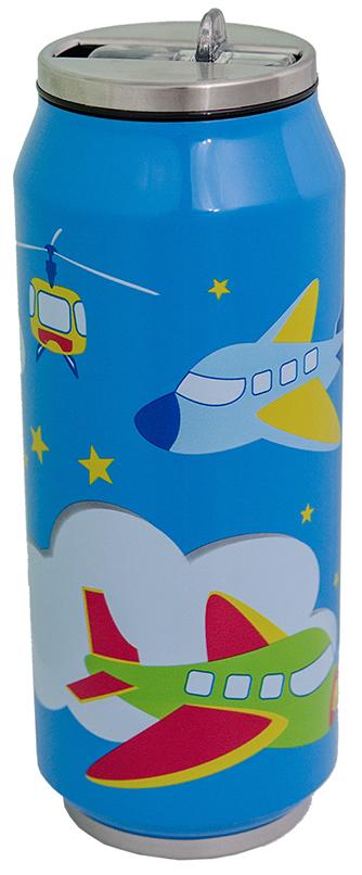 Termohrnek plechovka Orion dětská modrá