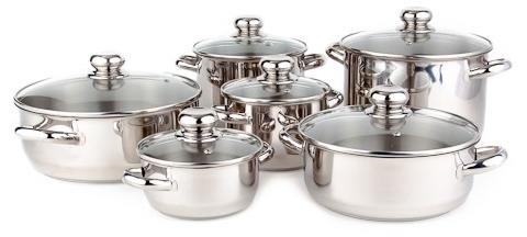 Sada nádobí Kolimax Premium 12 kusů