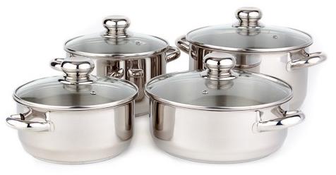 Sada nádobí Kolimax Premium 8 kusů