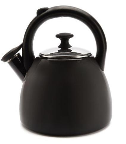 Konvice na čaj smaltovaná 2,2 l černá