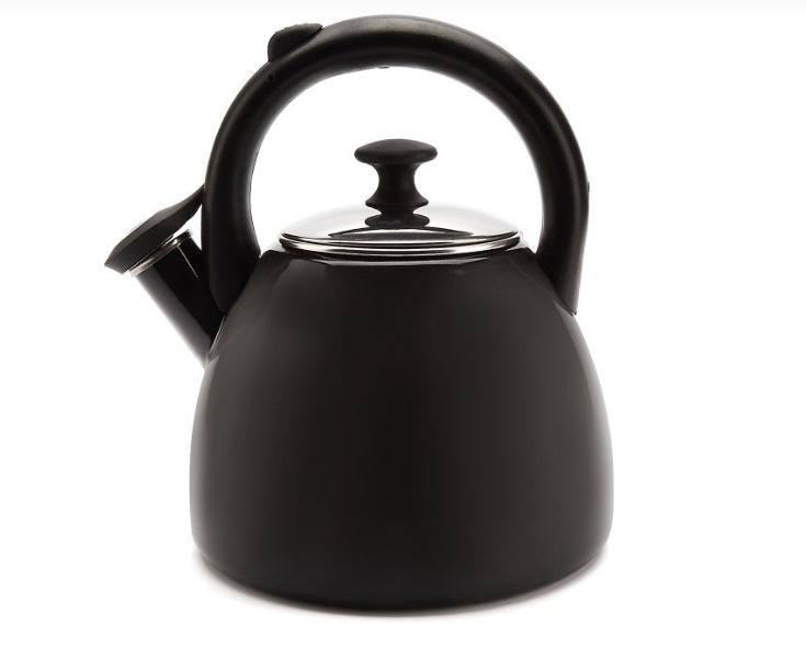 Konvice na čaj smaltovaná 2,2 l šedá