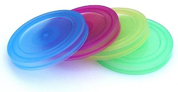 Těsnící víčka na zavařovací sklenice 0,7 l 4 ks