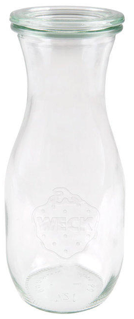Zavařovací sklenice s víčkem Weck 530 ml - Džus Ø 6 cm