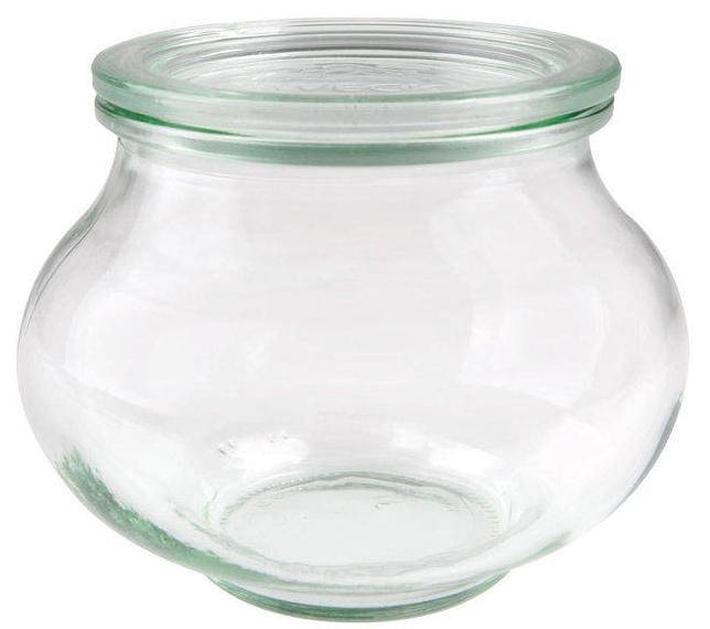 Zavařovací sklenice dekorativní Weck Schmuck 560 ml, průměr 80 - Rychlá expedice, doprava Zdarma od 999 Kč
