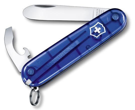 Nůž Victorinox 0.2363.T2 modrý transparentní