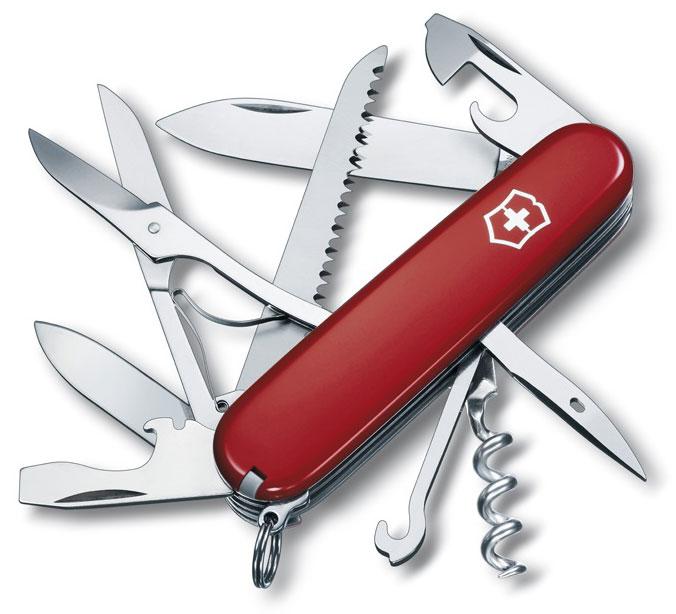 Nůž Victorinox 1.3713 Huntsman červený