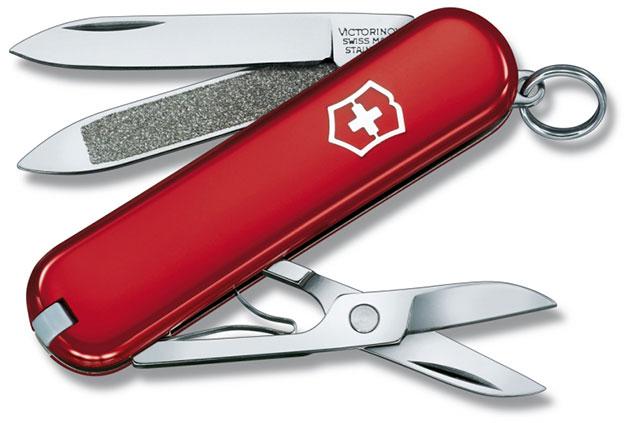 Nůž Victorinox 0.6203 Classic červený