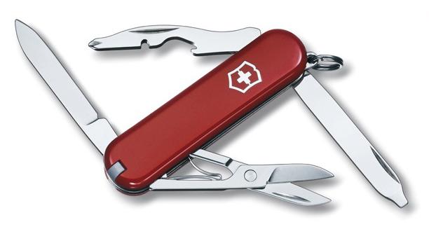 Nůž Victorinox Rambler 0.6363 červený