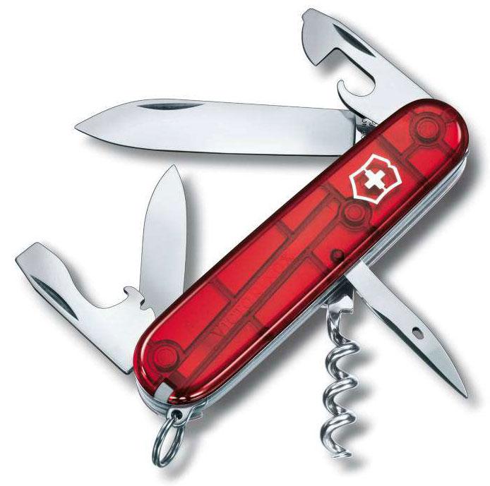 Nůž Victorinox 1.3603.T Spartan červený transparentní