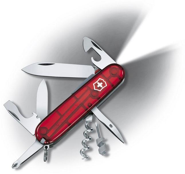 Nůž Victorinox 1.7804.T Spartan Lite červený transparentní