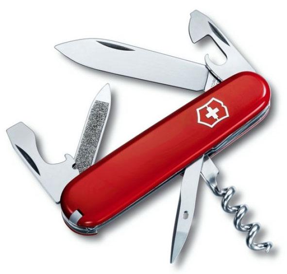 Nůž Victorinox 0.3802 Sportsman červený