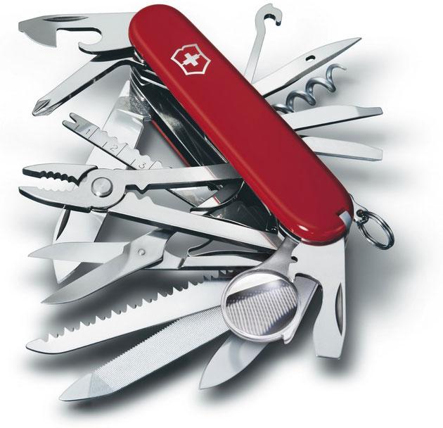Nůž Victorinox 1.6795 SwissChamp červený