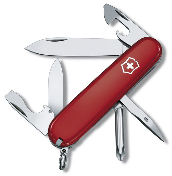 Nůž Victorinox 0.4603 malý Tinker červený