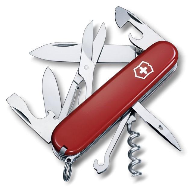 Nůž Victorinox 1.3703 Climber červený