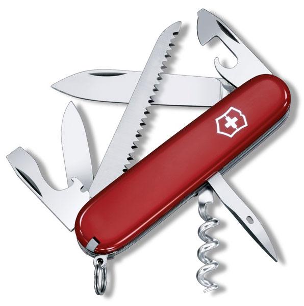 Nůž Victorinox 1.3613 Camper červený