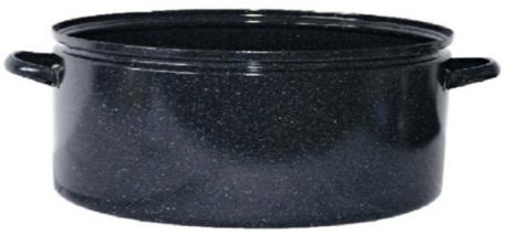 Smaltovaný kastrol Belis Gastro 10 l, 32 cm