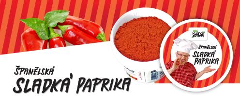 Španělská sladká paprika