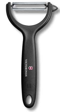 Škrabka na brambory Victorinox výklopná černá