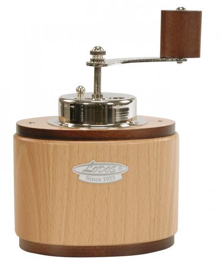 Ruční mlýnek na kávu Lodos ovál světlý