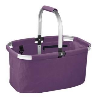 Skládací nákupní košík Tescoma fialový