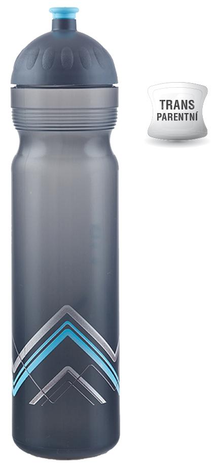 Zdravá láhev 1 l bike modrá