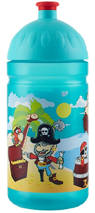 Zdravá láhev 0,5 l piráti
