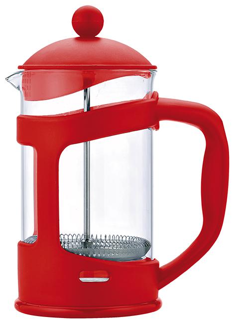 Konvice na čaj a kávu Florina 800 ml červená